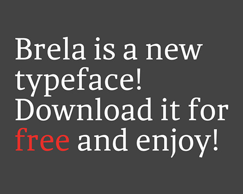 50 Free Fonts - Best of 2014 - 42