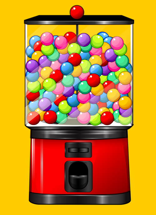 Create a Candy Gumball Machine Illustration in Adobe Illustrator