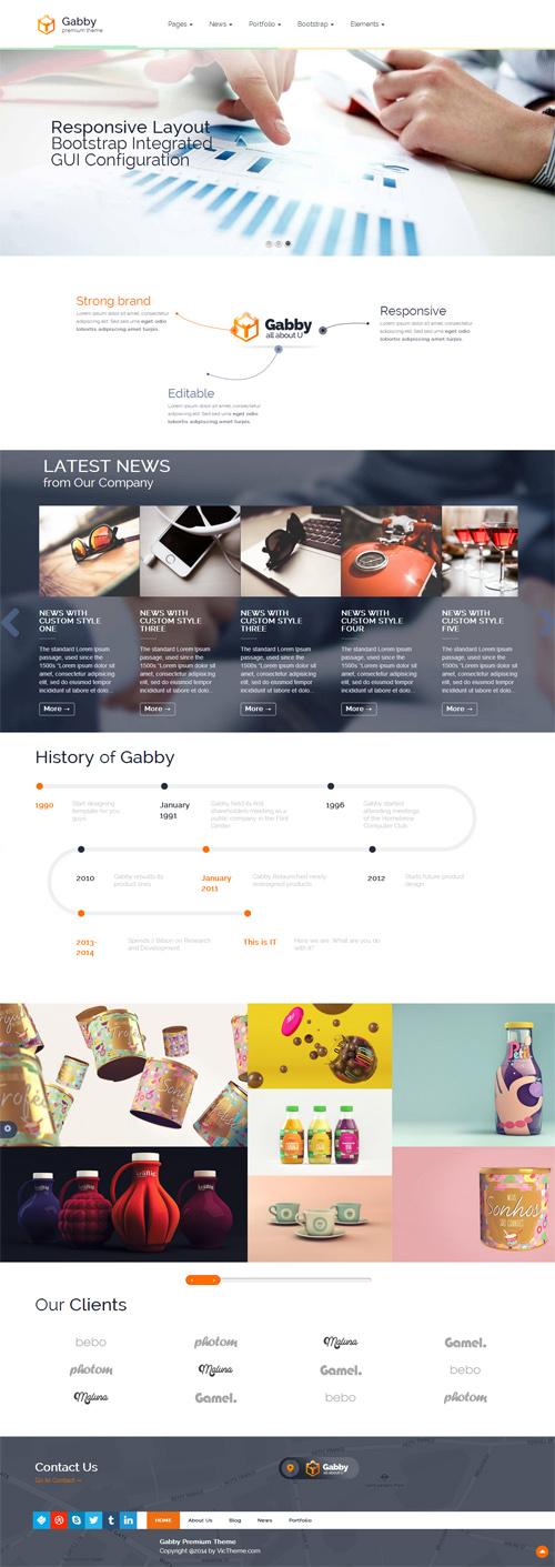 Gabby - Unique Multipurpose WordPress Theme