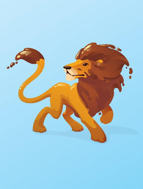 Design a Vector Animal Mascot in Adobe Illustrator Tutorial