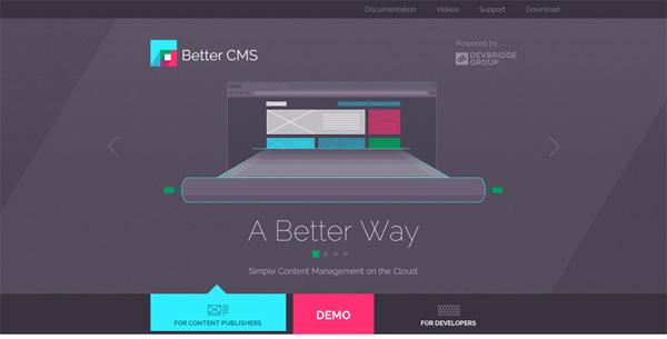 Flat Websites Design : 32 New Flat Web Design Examples 10