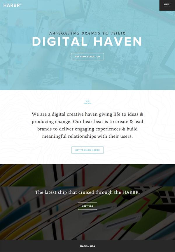 Flat Websites Design : 32 New Flat Web Design Examples 11