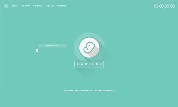 Flat Websites Design : 32 New Flat Web Design Examples 12