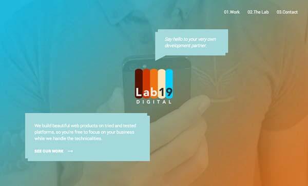 Flat Websites Design : 32 New Flat Web Design Examples 19