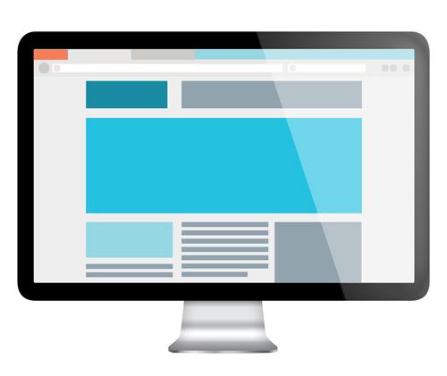 Web design preview (PSD)
