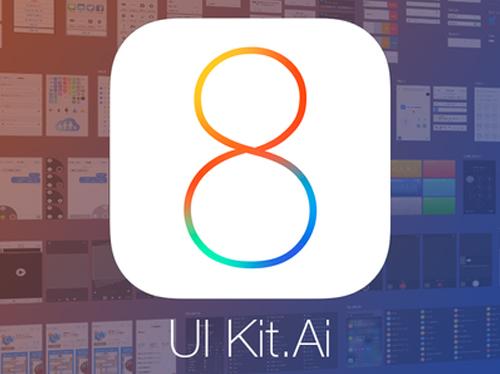 iOS 8 Vector Ui Kit (.ai)