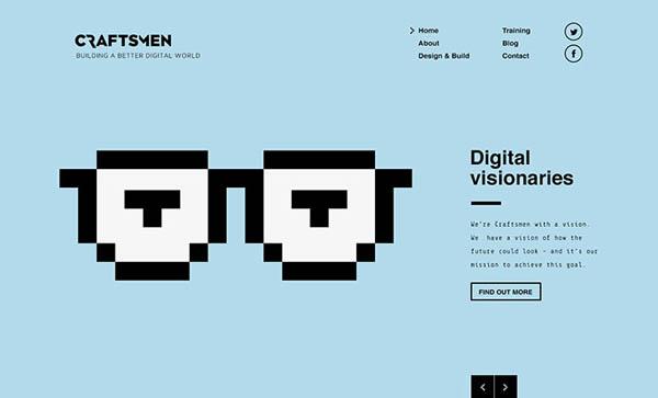 Illustrated Websites - 27