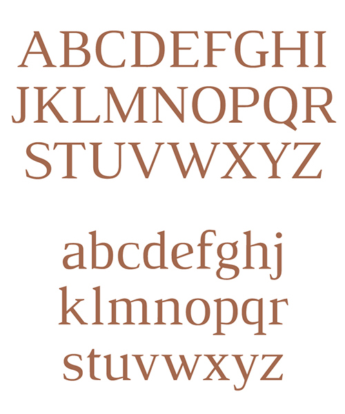 Luthier free font