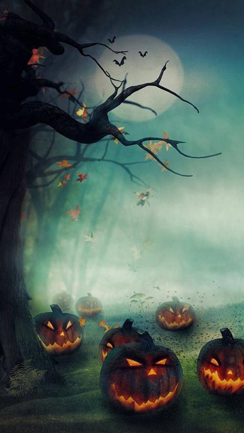 2014 Halloween Fire Pumpkins