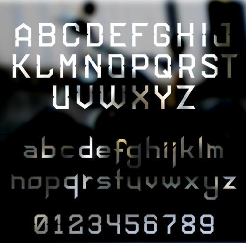 Hardknock free font