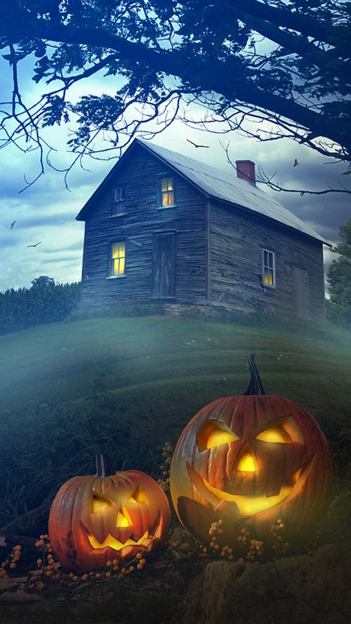 Halloween iPhone 6+ wallpaper