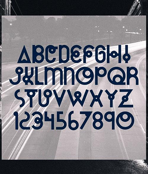 Cassiopeia free font