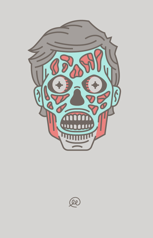 Scary Skull Wallpaper for iPhone 6