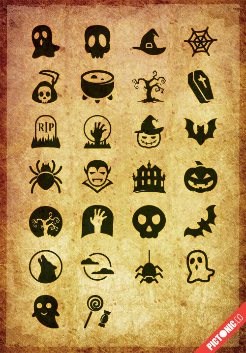 Pictonic - Font Icons: Halloween