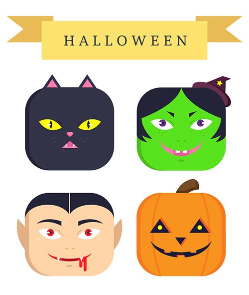 Halloween Character Icons