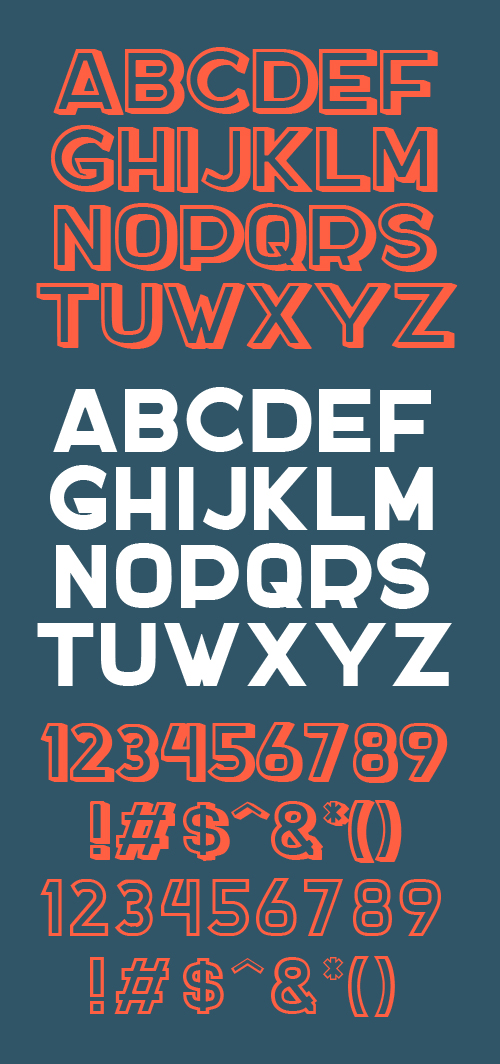 Docker free font