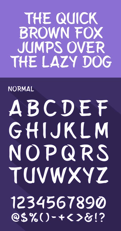 Belepotan free font