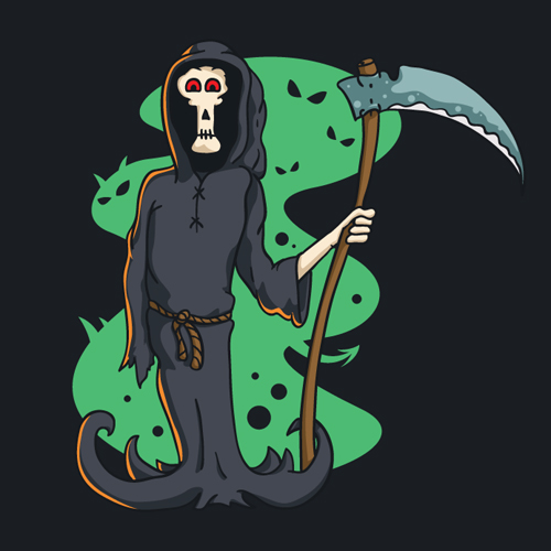 Free Vector Death Character