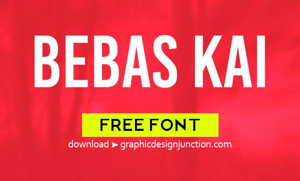 Bebas Kai Free Font