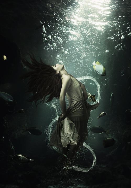 Create An Underwater Beauty In Photoshop