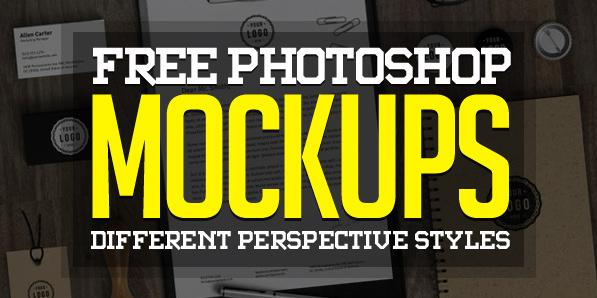 Best of 2014 - Fresh Free Photoshop PSD Mockups for Designers (27 MockUps)
