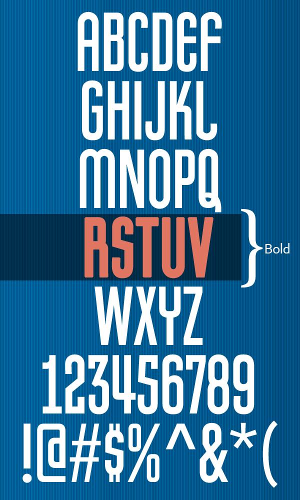 Pretender Font Letters