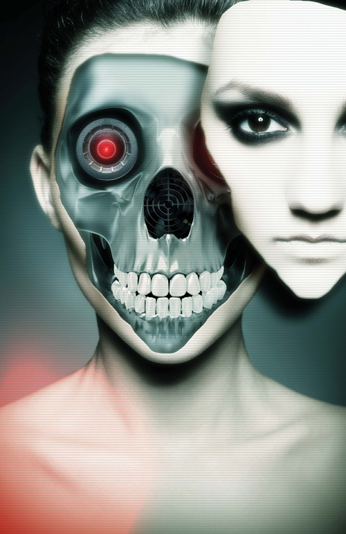 Create a Sci-fi Robot Cyborg in Photoshop Tutorial