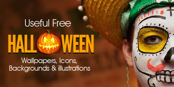 Useful Free Halloween Wallpapers, Icons, Background Illustrations