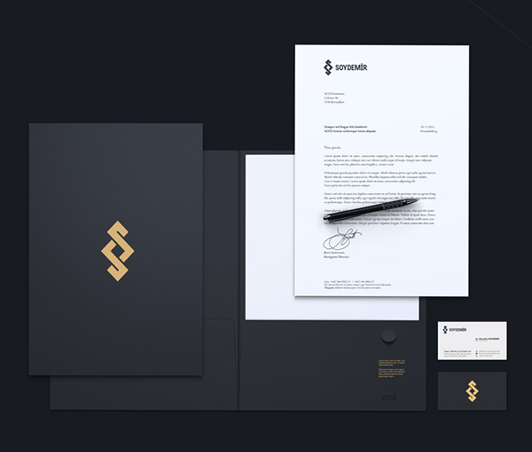 Soydemir Law Office Stationery Items