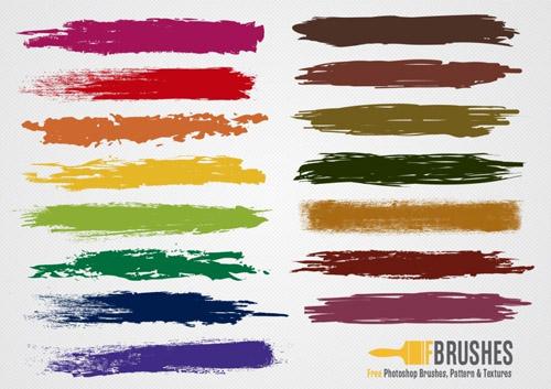 Colorful Brush Vectors