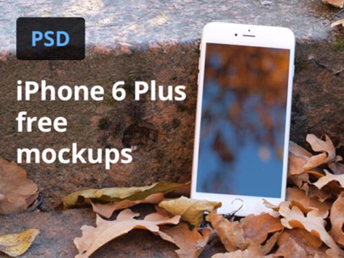 Free Mockups Iphone 6 Plus