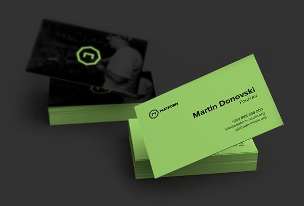 Platform Business Card