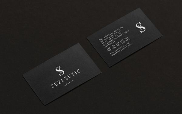 Suzi Zutic Jewels Business Card