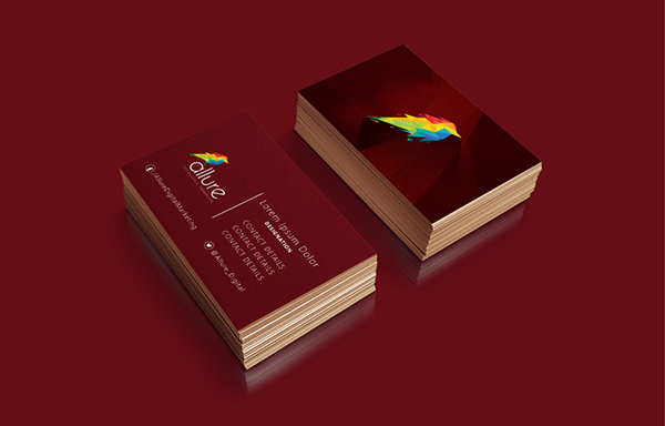 Allure Digital Business Card