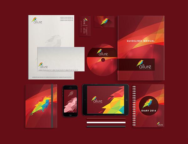 Allure Digital Stationery Items