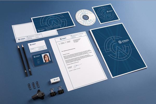 Strata Corporate Identity Stationery Items