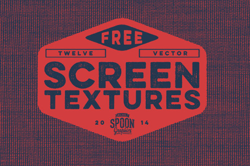 Free Pack of 12 Detailed Vector Screen Textures