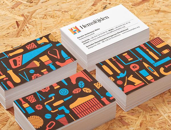 Swedish Handicraft Societies Business Card