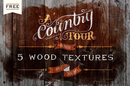 Wood Textures (300 dpi)