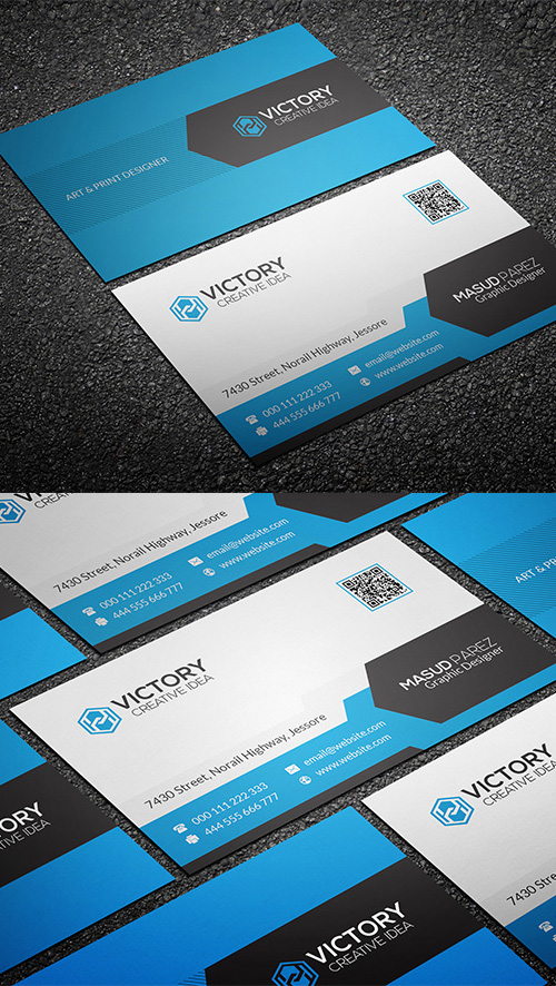 Commercial Business Card Design