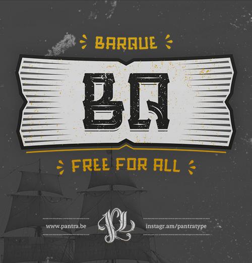 Barque Free Font