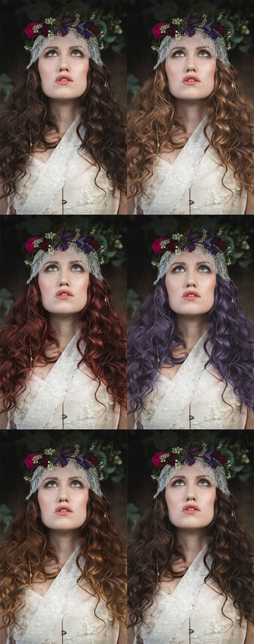How to Change Hair Colour in Photoshop: Lighten, Tint and Create Ombre Hair Effects in Photoshop Tutorial