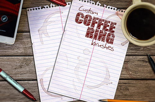 Create Custom Coffee Ring Brushes in Adobe Photoshop
