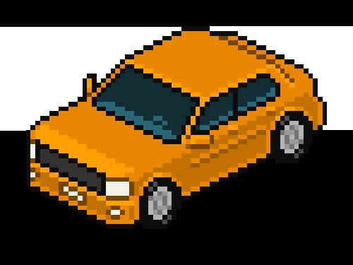 How to Create an Isometric Pixel Art Vehicle in Adobe Photoshop