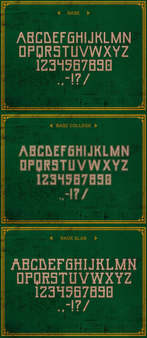 Umar Font Letters