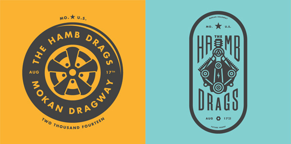 50+ Creative Designs of Badges and Logos - 1