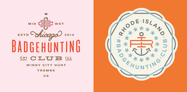 50+ Creative Designs of Badges and Logos - 12