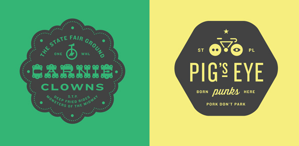 50+ Creative Designs of Badges and Logos - 30