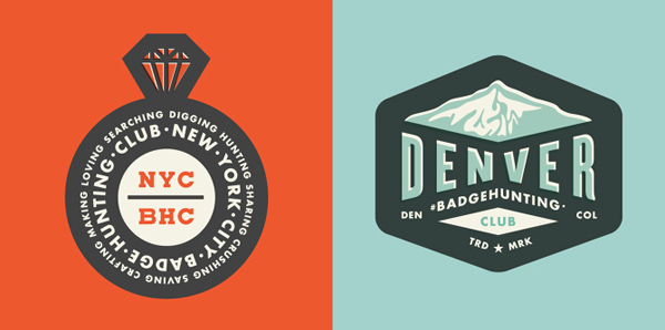 50+ Creative Designs of Badges and Logos - 8
