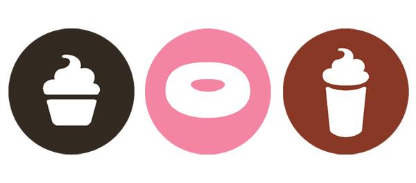 Cafe and Bakery Logo Design Elements